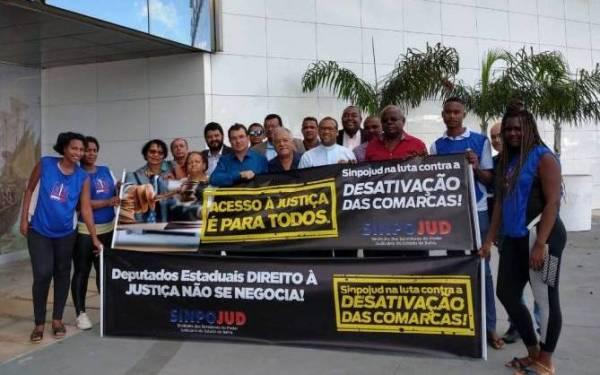 24258a5c30c9 O presidente do Sinpojud, Zenildo Castro, mais uma vez reafirmou: